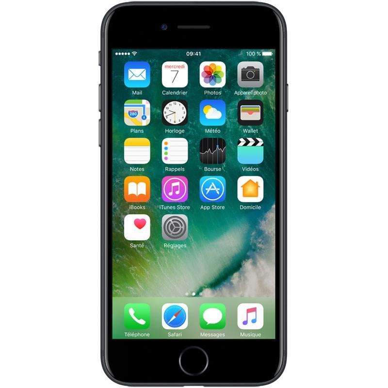 iPhone 7 32 Go Noir (1 an de Garantie)