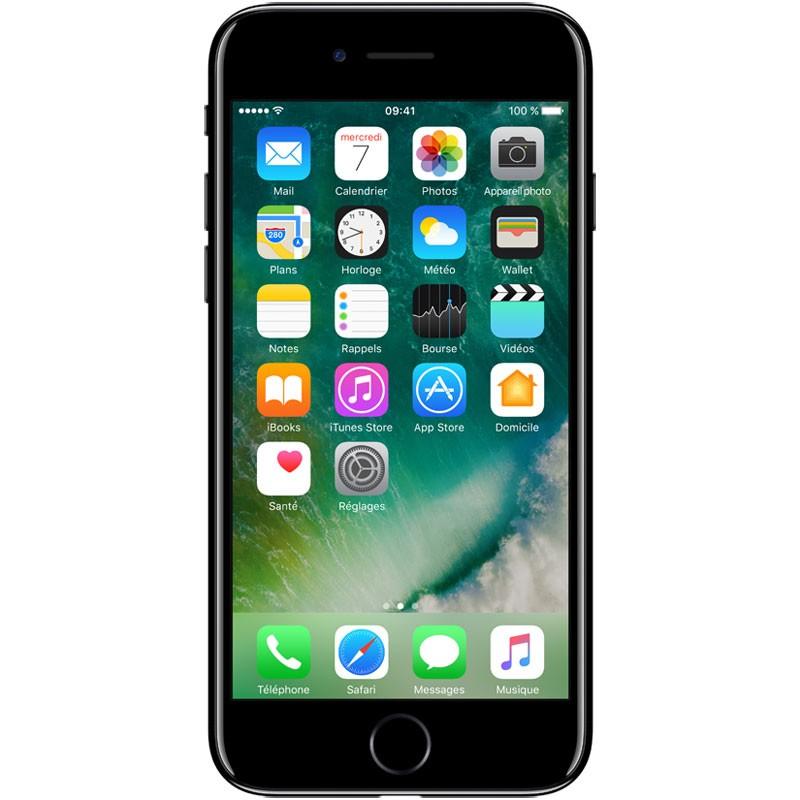 iPhone 7 256 Go Noir De Jais (1 an de Garantie)