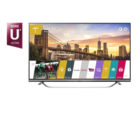TV LG 4K 60'' UHD IPS Smart TV - 60UF778V  (1 an de garantie)