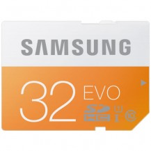 Carte mémoire Samsung SDHC 32 Go EVO Class 10